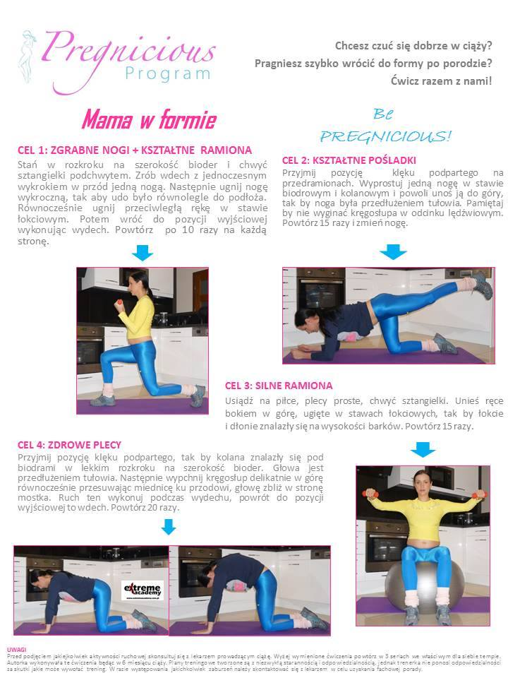 75abe9368f Trening w ciąży. - Anna Lewandowska - healthy plan by Ann