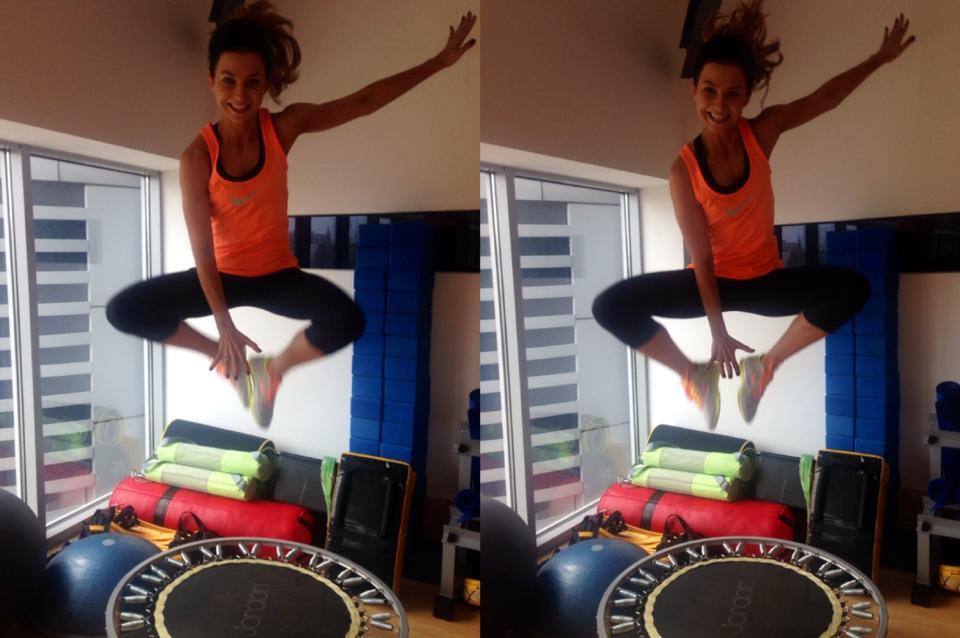 Czy trampolina Fitness Mangosteen pomaga schudnąć