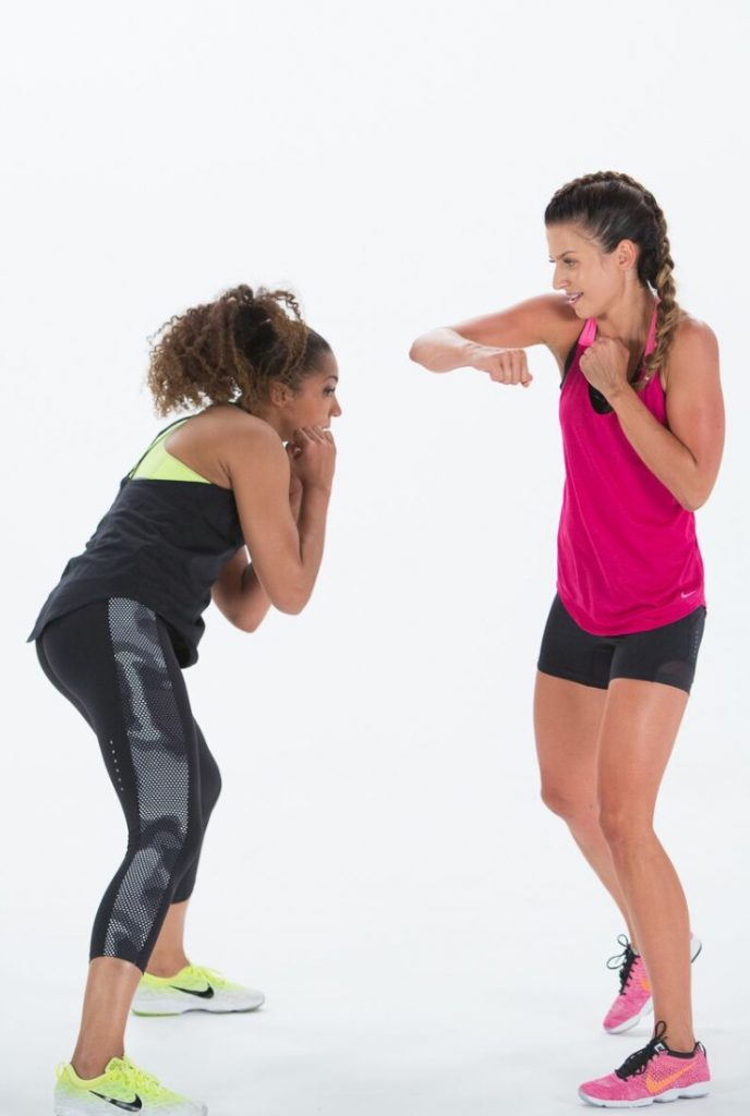 Pair training = double motivation - Anna Lewandowska