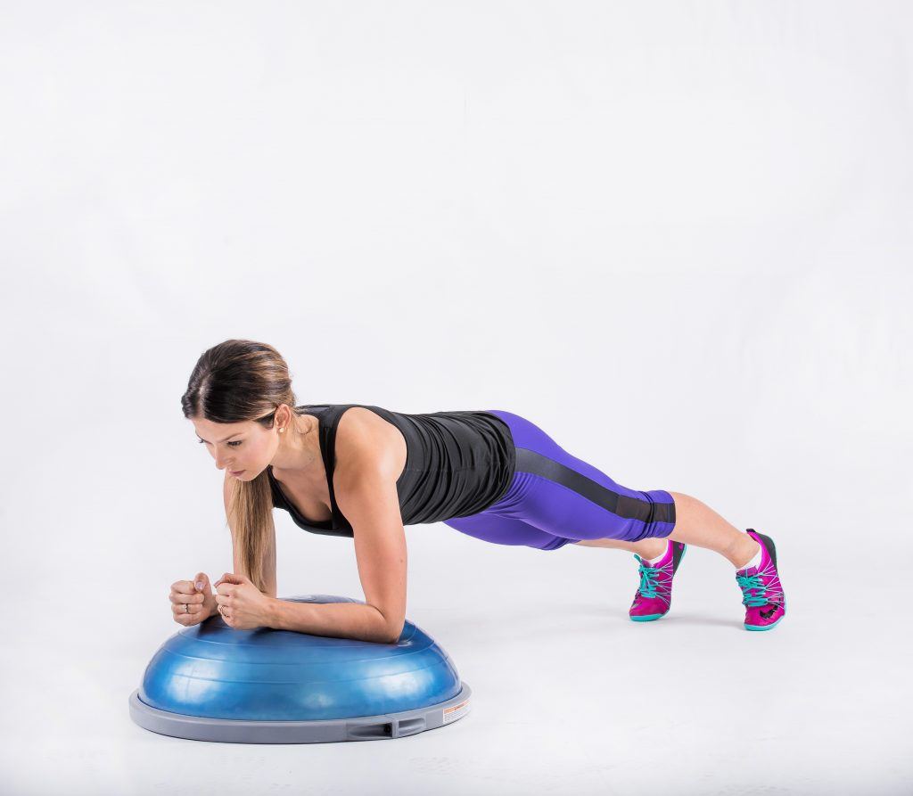 bosu balance trainer Compact and sleekly-designed balance trainer gets into position quickly for all types of therapeutic exercise.