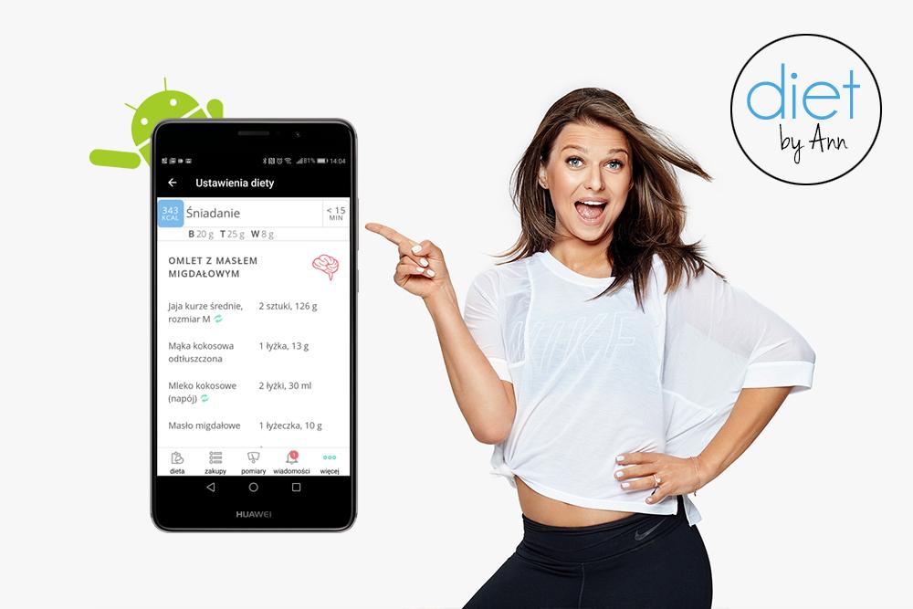 Juz Jest Aplikacja Diet By Ann Na Androidzie Anna Lewandowska